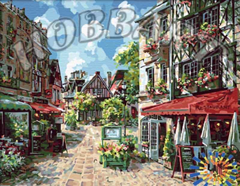 «Город просыпается» Сунг Сэм ПаркаHobbart<br><br><br>Артикул: HB4050150<br>Основа: Холст<br>Сложность: средние<br>Размер: 40x50 см<br>Количество цветов: 30<br>Техника рисования: Без смешивания красок