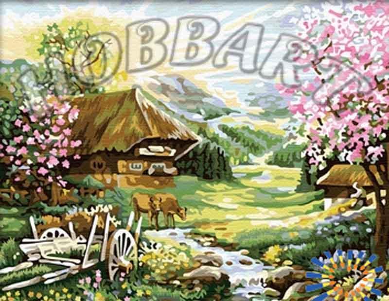 Картина по номерам «Розовый рассвет»Hobbart<br><br><br>Артикул: HB4050219<br>Основа: Холст<br>Сложность: легкие<br>Размер: 40x50 см<br>Количество цветов: 29<br>Техника рисования: Без смешивания красок