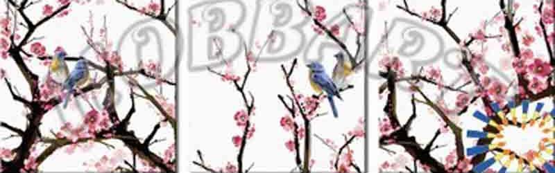 Картина по номерам «Возрождение красоты»Hobbart<br><br><br>Артикул: PH340120031<br>Основа: Холст<br>Сложность: средние<br>Размер: 3 шт. 40x40 см<br>Количество цветов: 31<br>Техника рисования: Без смешивания красок