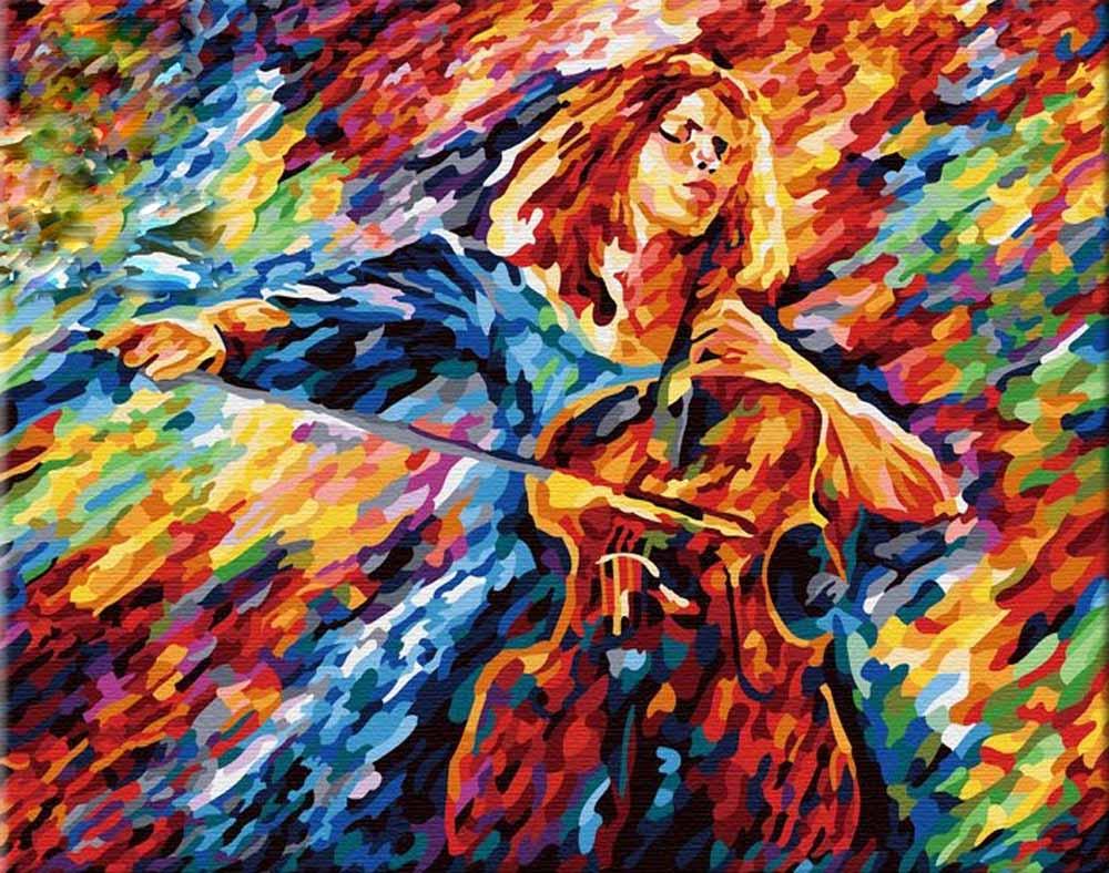 Картина по номерам «На струнах души» Леонида АфремоваHobbart<br><br><br>Артикул: HB4050145<br>Основа: Холст<br>Сложность: сложные<br>Размер: 40x50 см<br>Количество цветов: 30<br>Техника рисования: Без смешивания красок