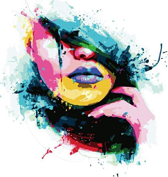 «Мода» Патриса МурсианоЦветной (Premium)<br><br><br>Артикул: ME1007_Z<br>Основа: Цветной холст<br>Сложность: легкие<br>Размер: 30x40 см<br>Количество цветов: 25<br>Техника рисования: Без смешивания красок