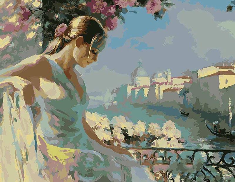Картина по номерам «Венецианский мотив» Владимира ВолеговаMenglei (Premium)<br><br><br>Артикул: MG1062<br>Основа: Холст<br>Сложность: сложные<br>Размер: 40x50 см<br>Количество цветов: 30<br>Техника рисования: Без смешивания красок