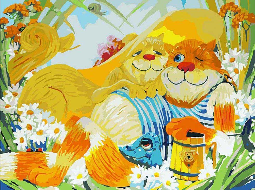 Картина по номерам «Идиллия» Антона ГорцевичаКартины по номерам Белоснежка<br><br><br>Артикул: 079-AS<br>Основа: Холст<br>Сложность: очень сложные<br>Размер: 30х40 см<br>Количество цветов: 35<br>Техника рисования: Без смешивания красок