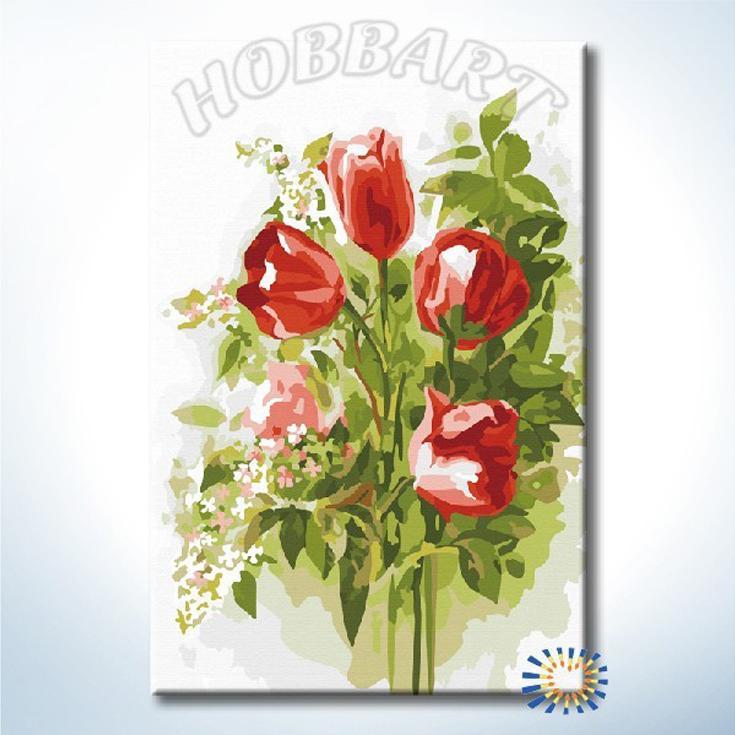 Картина по номерам «Благоухание весны»Hobbart<br><br><br>Артикул: DZ2030001<br>Основа: Холст<br>Сложность: легкие<br>Размер: 20x30 см<br>Количество цветов: 20<br>Техника рисования: Без смешивания красок