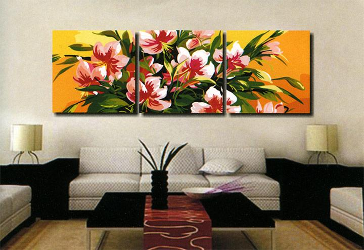 Картина по номерам «Нежность»Menglei (Premium)<br>Нежность<br><br>Артикул: MT3032<br>Основа: Холст<br>Сложность: средние<br>Размер: 3 шт. 50x50 см<br>Количество цветов: 21<br>Техника рисования: Без смешивания красок