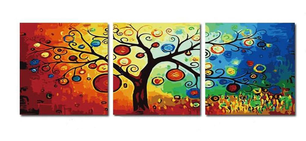 Денежное деревоMenglei (Premium)<br>С помощью картины по номерам можно легко оживить атмосферу дома и украсить интерьер, а если картина еще и несет в себе некий смысл, то это будет только дополнительным бонусом. Денежное дерево, к примеру, не сможет «молчать», ведь его предназначение – прив...<br><br>Артикул: MT3011<br>Основа: Холст<br>Сложность: сложные<br>Размер: 3 шт. 50x50 см<br>Количество цветов: 24<br>Техника рисования: Без смешивания красок