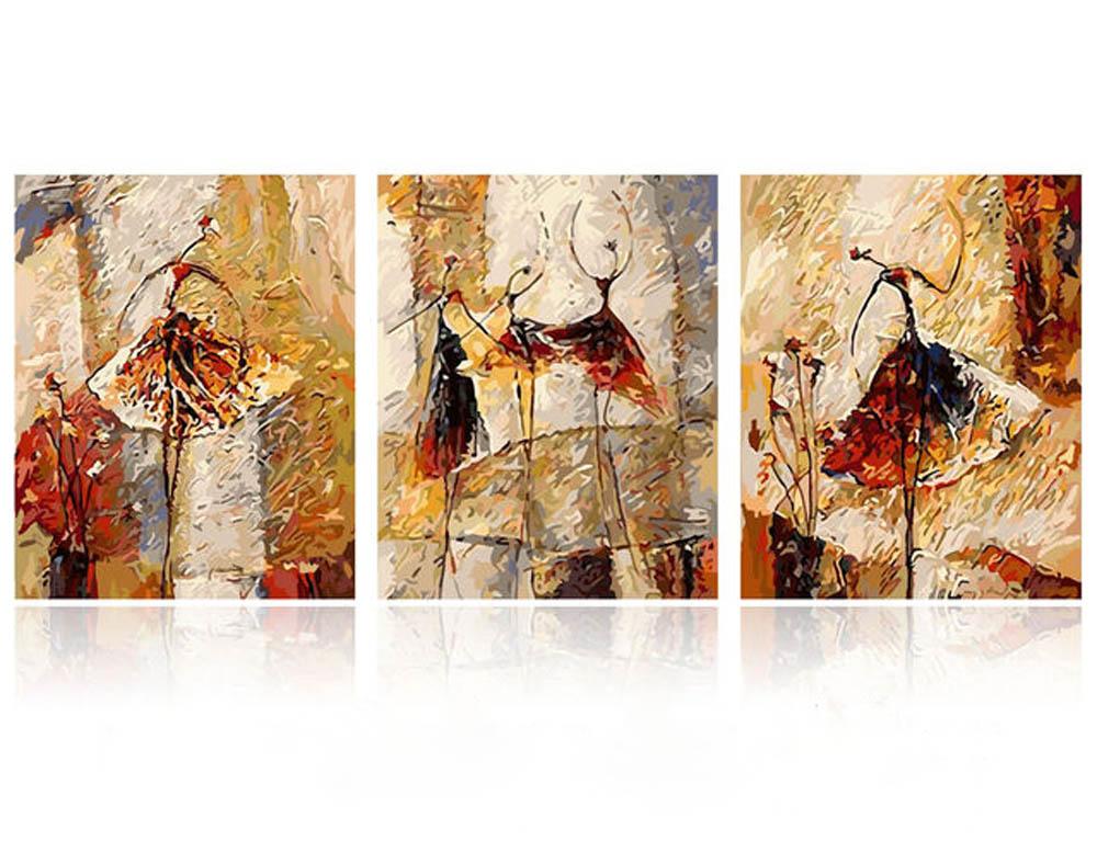 «Грация» Елены КарпинскойРаскраски по номерам Color Kit<br><br><br>Артикул: CX3008<br>Основа: Холст<br>Сложность: сложные<br>Размер: 3 шт. 40х50 см<br>Количество цветов: 25<br>Техника рисования: Без смешивания красок