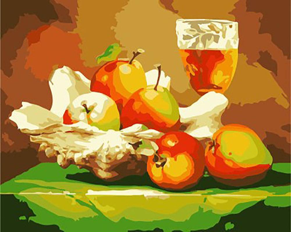 «Вино и фрукты» Габора ТотаРаскраски по номерам Menglei (Standart)<br><br><br>Артикул: MG438_S<br>Основа: Холст<br>Сложность: средние<br>Размер: 40x50 см<br>Количество цветов: 24<br>Техника рисования: Без смешивания красок