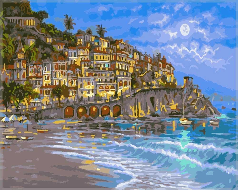 «Звездная ночь» Роберта ФайнэлаPaintboy (Premium)<br><br><br>Артикул: GX7239<br>Основа: Холст<br>Сложность: средние<br>Размер: 40x50<br>Количество цветов: 25<br>Техника рисования: Без смешивания красок