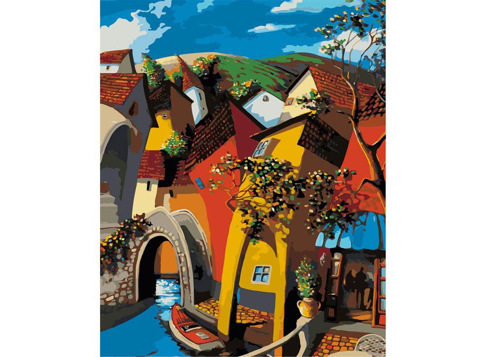 Картина по номерам «Сказочная Венеция» Мигеля Фрейтаса, «Сказочная Венеция»