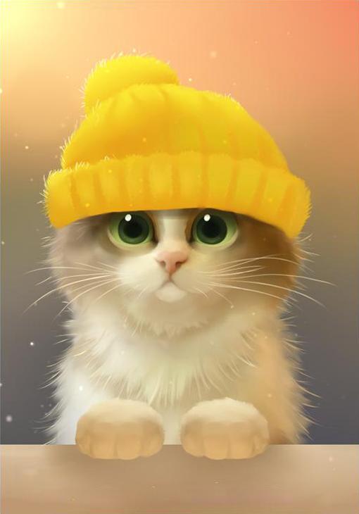 Алмазная вышивка «Милый котик» Ричарда ДонскисаАлмазная вышивка Гранни<br><br><br>Артикул: AG004<br>Основа: Холст без подрамника<br>Сложность: средние<br>Размер: 19x27 см<br>Выкладка: Полная<br>Количество цветов: 23<br>Тип страз: Квадратные
