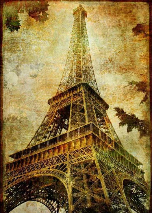 Алмазная вышивка париж эйфелева башня