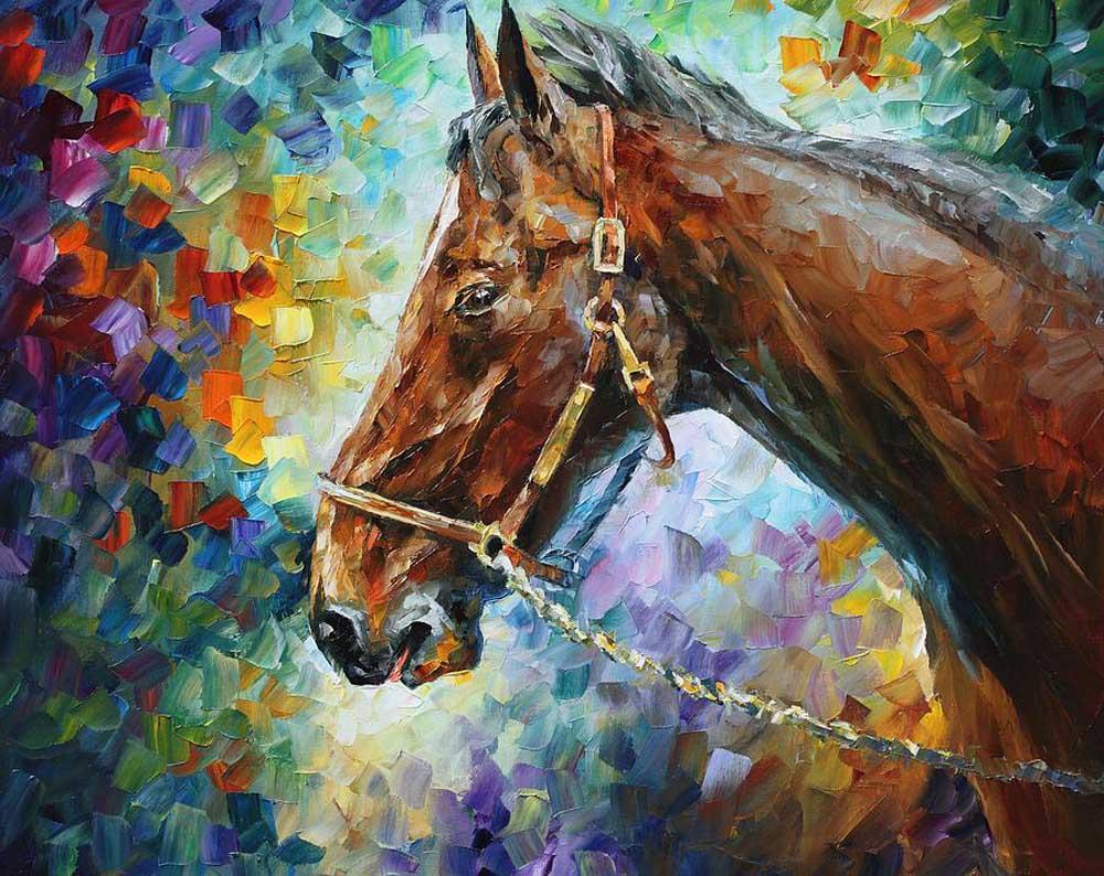 «Лошадь» Леонида АфремоваРаскраски по номерам Paintboy (Original)<br><br><br>Артикул: G007_R<br>Основа: Холст<br>Сложность: сложные<br>Размер: 40x50 см<br>Количество цветов: 25<br>Техника рисования: Без смешивания красок