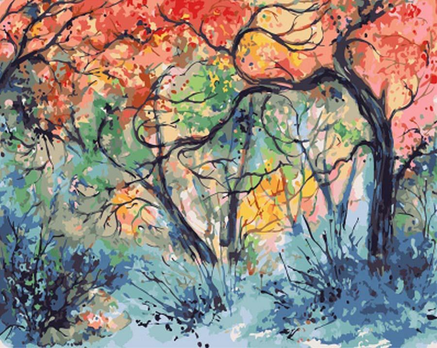 Картина по номерам «Отражение весны» Анны АрмоныРаскраски по номерам Paintboy (Original)<br><br><br>Артикул: GX7939_R<br>Основа: Холст<br>Сложность: средние<br>Размер: 40x50 см<br>Количество цветов: 24<br>Техника рисования: Без смешивания красок