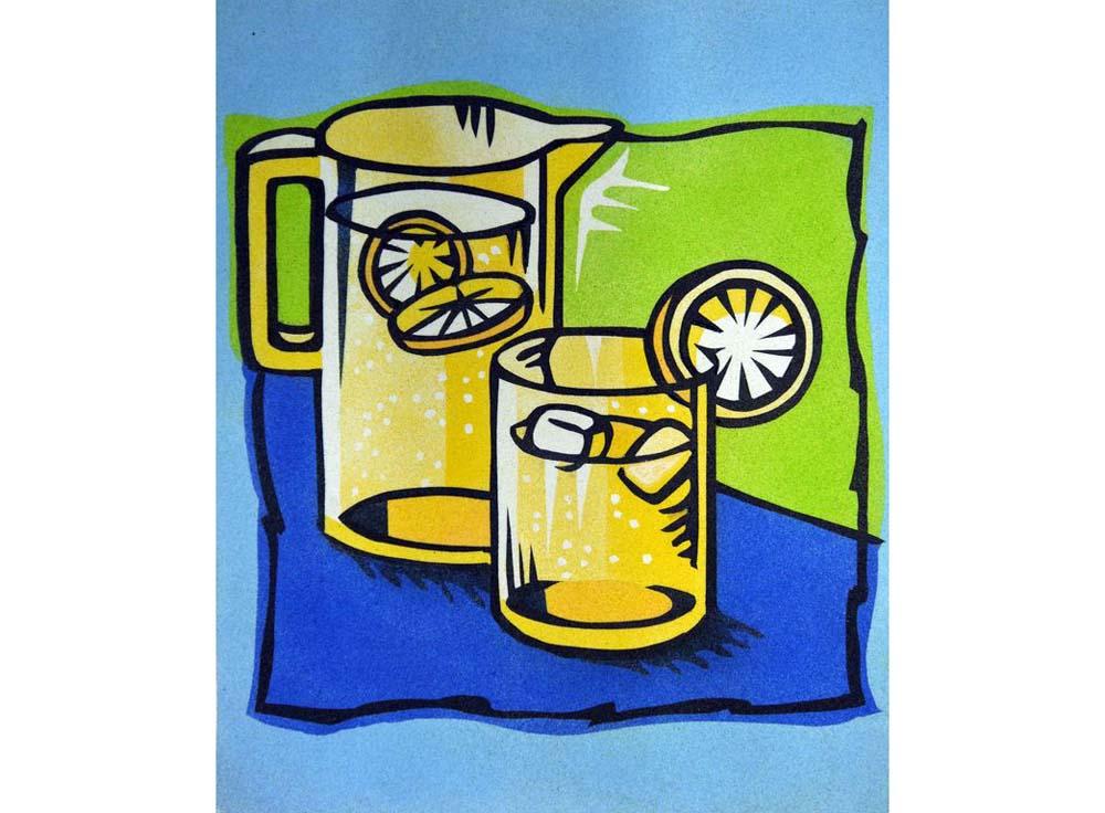 Картина цветным песком (набор) «Лимонад»Картины из цветного песка<br>Картина цветным песком – это полноценное произведение искусства, которым по праву можно гордиться, ведь работа эта достаточно тонкая и кропотливая. Она захватывает все внимание, позволяя нервной системе расслабиться, забыть о стрессовых ситуациях, снять в...<br><br>Артикул: PRD-59<br>Размер: 38x46<br>Количество цветов: 8