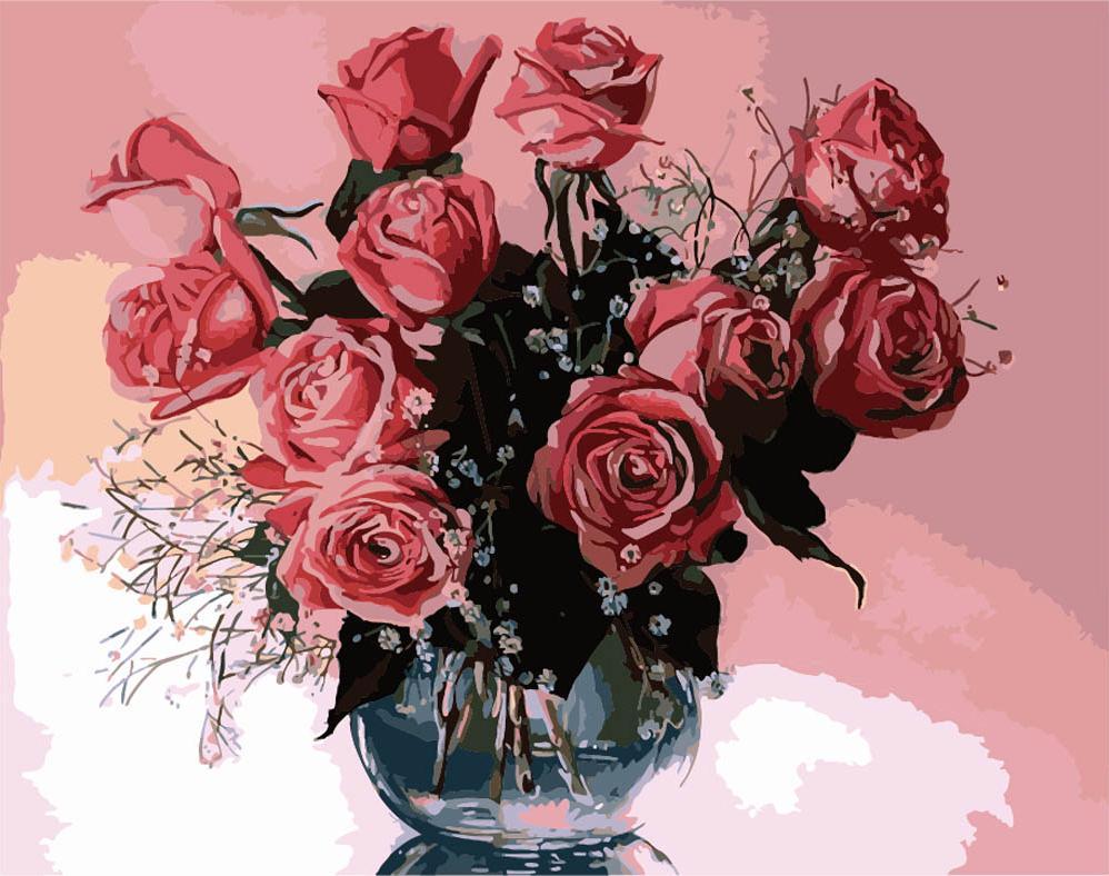 «Розы» Татьяны ЧачевойMenglei (Premium)<br><br><br>Артикул: MG1073<br>Основа: Холст<br>Сложность: сложные<br>Размер: 40x50 см<br>Количество цветов: 25<br>Техника рисования: Без смешивания красок