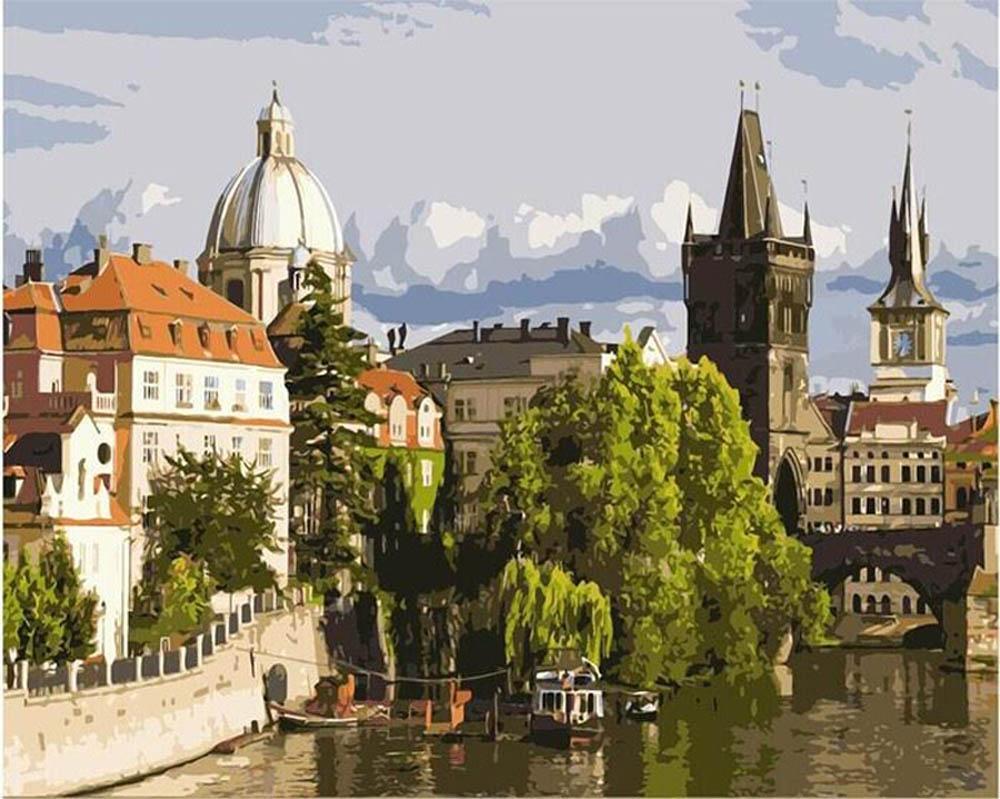 Картина по номерам «Прага» gx7119 Paintboy (Premium) 40x50 ...