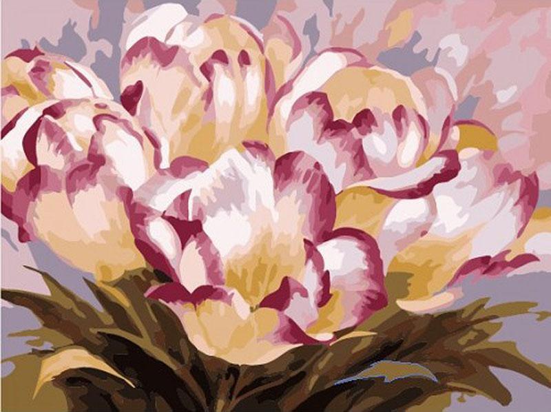 «Тюльпаны» Антонио ДжанильяттиРаскраски по номерам Paintboy (Original)<br><br><br>Артикул: GX7261_R<br>Основа: Холст<br>Сложность: сложные<br>Размер: 40x50 см<br>Количество цветов: 25<br>Техника рисования: Без смешивания красок