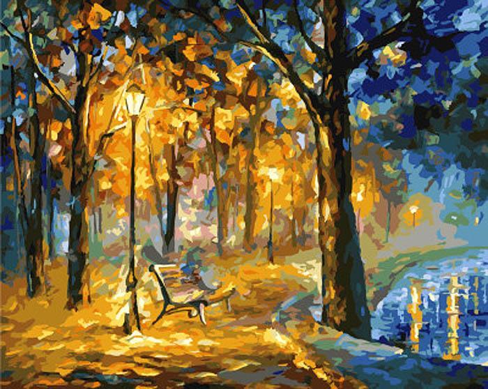 «Поющий парк» Леонида АфремоваРаскраски по номерам Paintboy (Original)<br><br><br>Артикул: GX7316_R<br>Основа: Холст<br>Сложность: сложные<br>Размер: 40x50 см<br>Количество цветов: 25<br>Техника рисования: Без смешивания красок