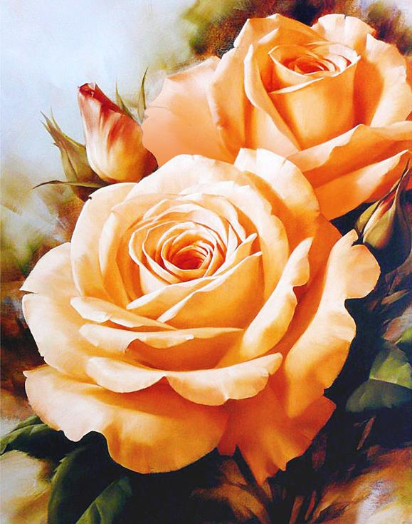 Алмазная вышивка «Чайные розы»Алмазная Живопись<br>Картины стразами бренда «Алмазная Живопись» это:<br><br>четко пропечатанная символьная схема;<br>качественный клеевой слой по всей поверхности холста;<br>большая палитра акриловых страз с 9 гранями, которые, отражая свет, создают эффект объемного изображения.<br>...<br><br>Артикул: SP-1132<br>Основа: Холст без подрамника<br>Сложность: средние<br>Размер: 40x50 см<br>Выкладка: Полная<br>Количество цветов: 25<br>Тип страз: Квадратные