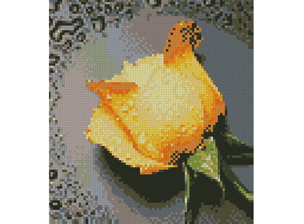 Стразы «Желтая роза»Алмазная Живопись<br>Картины стразами бренда «Алмазная Живопись» это:<br><br>четко пропечатанная символьная схема;<br>качественный клеевой слой по всей поверхности холста;<br>большая палитра акриловых страз с 9 гранями, которые, отражая свет, создают эффект объемного изображения.<br>...<br><br>Артикул: SP-18<br>Основа: Холст без подрамника<br>Сложность: средние<br>Размер: 22x24 см<br>Выкладка: Полная<br>Количество цветов: 17<br>Тип страз: Квадратные
