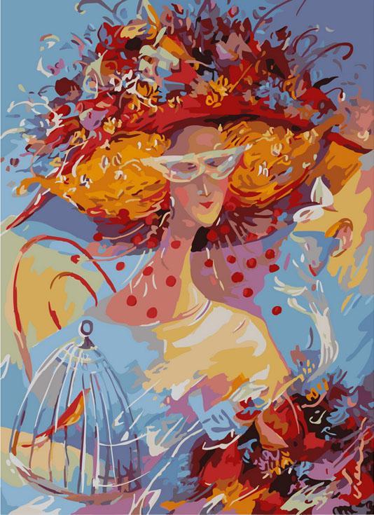 Картина по номерам Белоснежка «Хрустальные чувства» Лианы Моисеевой 851-AB-C