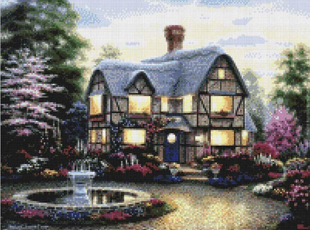 Алмазная вышивка «Любимый дом»Алмазная вышивка<br><br>