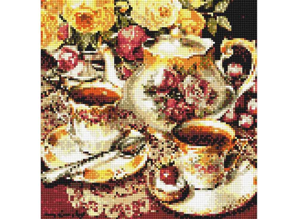 Алмазная вышивка «Чайная пара»Алмазная вышивка<br><br>