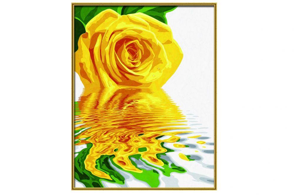 """«Желтая роза»Schipper (Шиппер)<br>Производитель наборов картин по номерам """"Schipper"""" - это исключительное качество всех составляющих. Особенностью этого бренда является то, что основа картины - высококачественный картон, покрытие которого имитирует натуральный холст. Краски """"Schipper"""" обл...<br><br>Артикул: 9130523<br>Основа: Картон<br>Сложность: сложные<br>Размер: 40x50 см<br>Количество цветов: 18<br>Техника рисования: Без смешивания красок"""