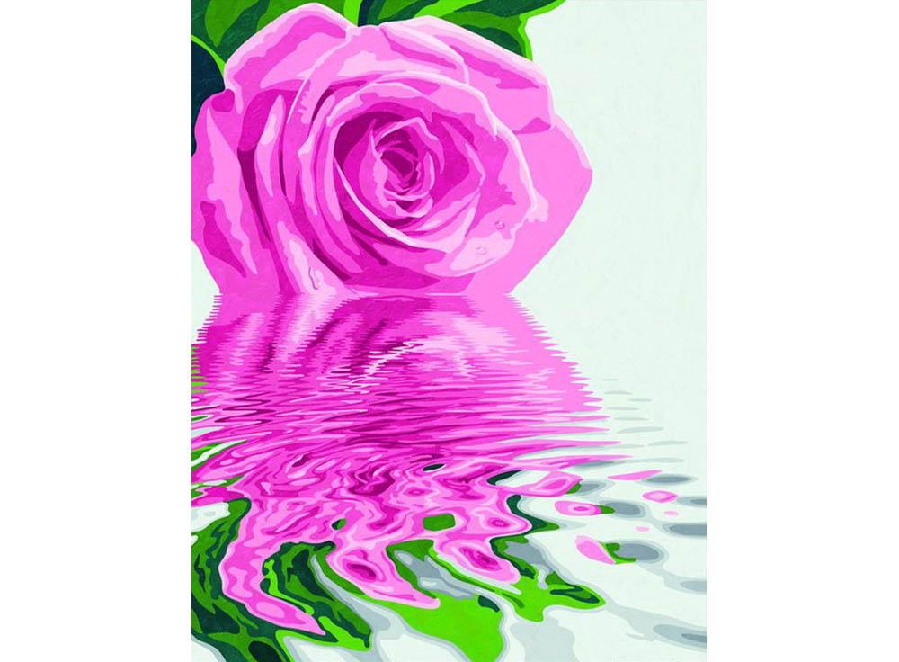 """«Розовая роза»Schipper (Шиппер)<br>Производитель наборов картин по номерам """"Schipper"""" - это исключительное качество всех составляющих. Особенностью этого бренда является то, что основа картины - высококачественный картон, покрытие которого имитирует натуральный холст. Краски """"Schipper"""" обл...<br><br>Артикул: 9130524<br>Основа: Картон<br>Сложность: сложные<br>Размер: 40x50 см<br>Количество цветов: 18<br>Техника рисования: Без смешивания красок"""