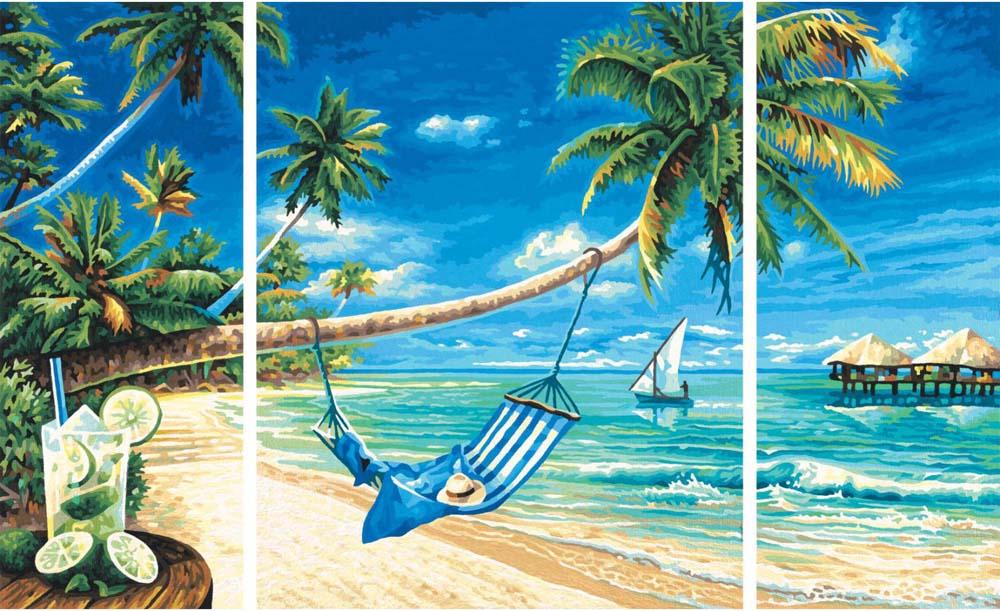 """Картина по номерам «Летний мохито»Schipper (Шиппер)<br>Производитель наборов картин по номерам """"Schipper"""" - это исключительное качество всех составляющих. Особенностью этого бренда является то, что основа картины - высококачественный картон, покрытие которого имитирует натуральный холст. Краски """"Schipper"""" обл...<br><br>Артикул: 9260693<br>Основа: Картон<br>Сложность: сложные<br>Размер: 2 шт. 20x50 см, 1 шт. 40x50 см<br>Количество цветов: 25<br>Техника рисования: Без смешивания красок"""