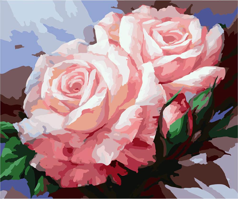 «Розы Шебби Шик»Раскраски по номерам Color Kit<br><br><br>Артикул: G301<br>Основа: Холст<br>Сложность: сложные<br>Размер: 40x50 см<br>Количество цветов: 25<br>Техника рисования: Без смешивания красок