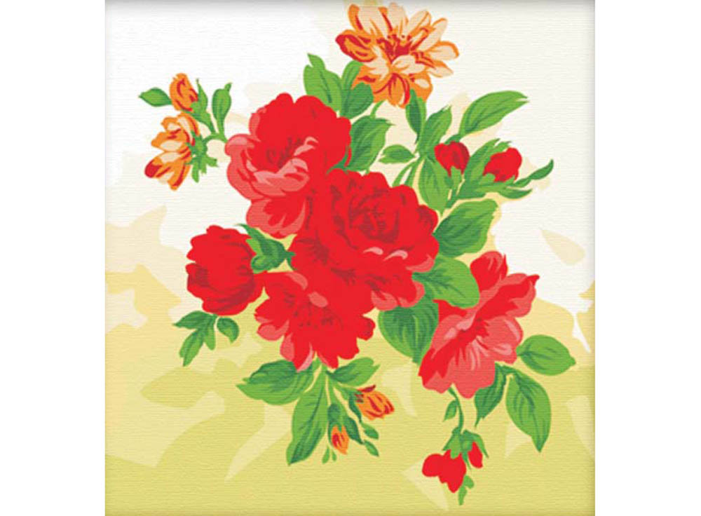 «Пионы»Hobbart<br><br><br>Артикул: HB4040003<br>Основа: Холст<br>Сложность: сложные<br>Размер: 40x40 см<br>Количество цветов: 17<br>Техника рисования: Без смешивания красок