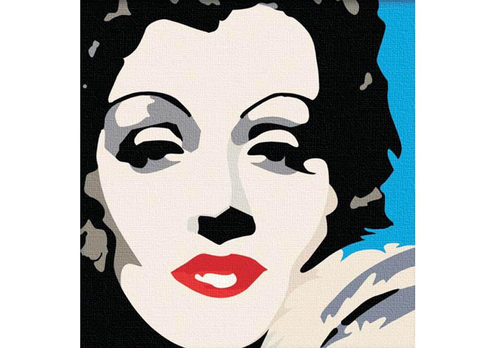 «Marilyn Monroe»Hobbart<br><br><br>Артикул: HB4040020<br>Основа: Холст<br>Сложность: сложные<br>Размер: 40x40 см<br>Количество цветов: 25<br>Техника рисования: Без смешивания красок