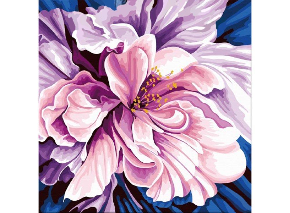 Картина по номерам «Аромат любви»Hobbart<br><br><br>Артикул: HB4040051-Lite<br>Основа: Цветной холст<br>Сложность: средние<br>Размер: 40x40 см<br>Количество цветов: 25<br>Техника рисования: Без смешивания красок