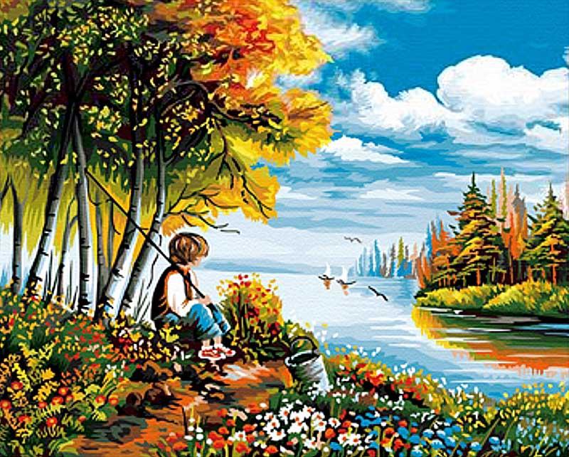 «В предвкушении»Hobbart<br><br><br>Артикул: HB4050160<br>Основа: Холст<br>Сложность: сложные<br>Размер: 40x50 см<br>Количество цветов: 29<br>Техника рисовани: Без смешивани красок