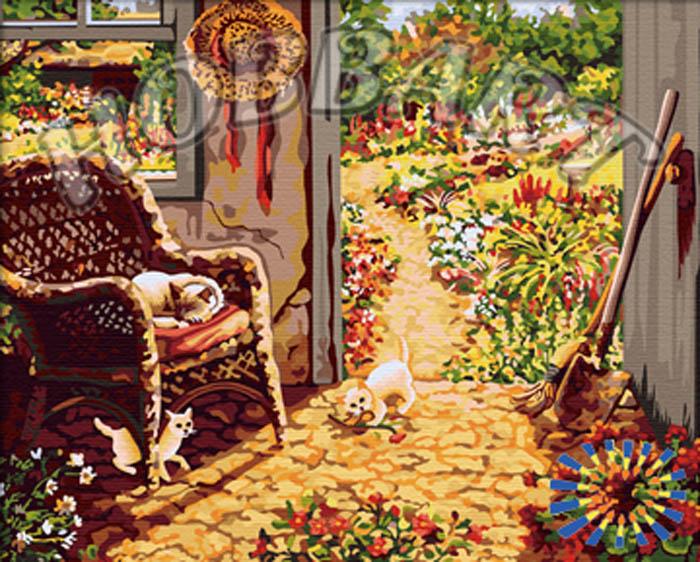 «Садовое настроение»Hobbart<br><br><br>Артикул: HB4050174<br>Основа: Холст<br>Сложность: сложные<br>Размер: 40x50 см<br>Количество цветов: 28<br>Техника рисования: Без смешивания красок