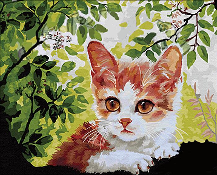 Картина по номерам «По деревьям»Hobbart<br><br><br>Артикул: HB4050185<br>Основа: Холст<br>Сложность: сложные<br>Размер: 40x50 см<br>Количество цветов: 25<br>Техника рисования: Без смешивания красок