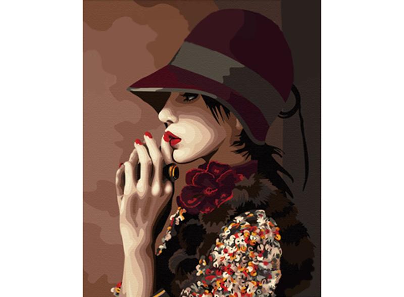«Задумчивость»Hobbart<br><br><br>Артикул: HB4050202<br>Основа: Холст<br>Сложность: средние<br>Размер: 40x50 см<br>Количество цветов: 26<br>Техника рисования: Без смешивания красок