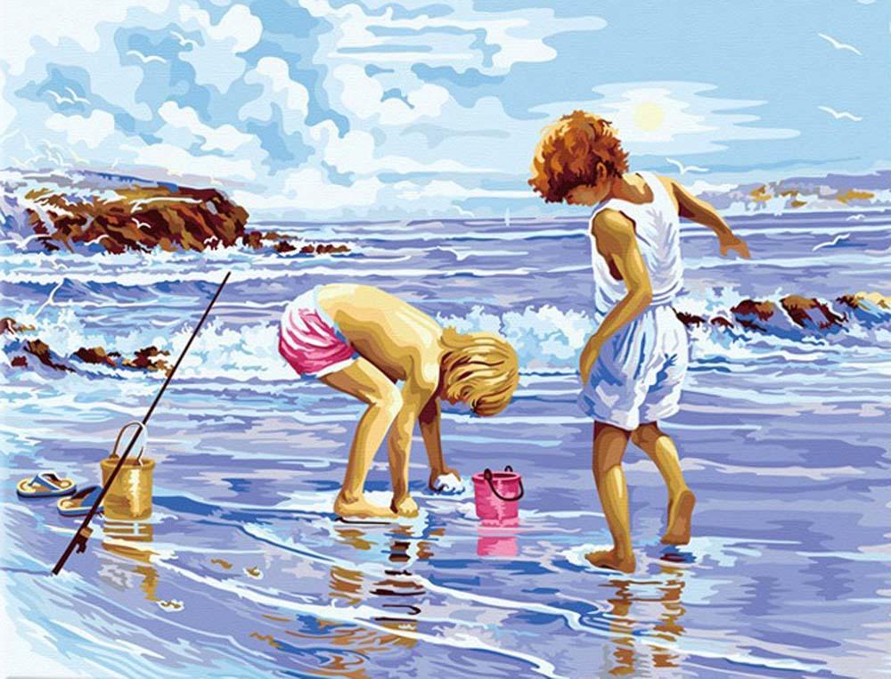 Картина по номерам «Морской улов»Hobbart<br><br><br>Артикул: HB4050253<br>Основа: Холст<br>Сложность: сложные<br>Размер: 40x50 см<br>Количество цветов: 25<br>Техника рисования: Без смешивания красок