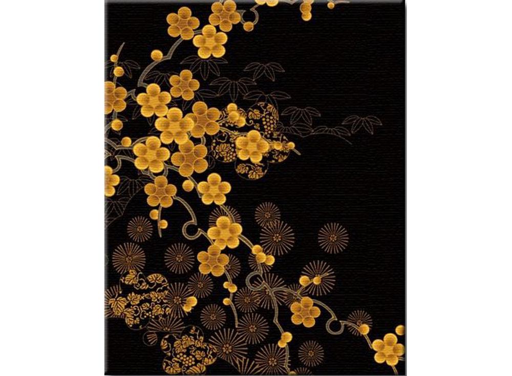 «Слива в золотом цвету»Hobbart<br><br><br>Артикул: JH4050003<br>Основа: Холст<br>Сложность: средние<br>Размер: 40x50 см<br>Количество цветов: 10<br>Техника рисования: Без смешивания красок