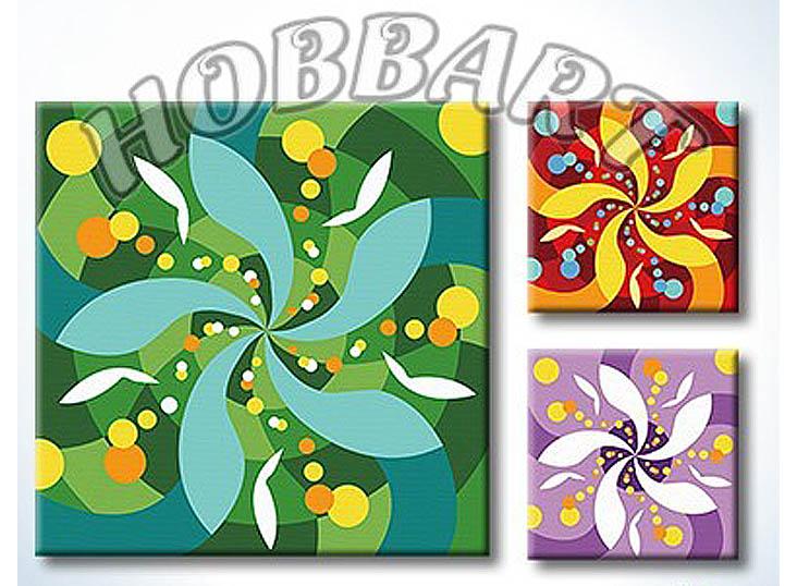Картина по номерам «Мандала для раскрашивания №16»Hobbart<br><br><br>Артикул: MT4040016<br>Основа: Холст<br>Сложность: легкие<br>Размер: 40x40 см<br>Количество цветов: 23<br>Техника рисования: Без смешивания красок