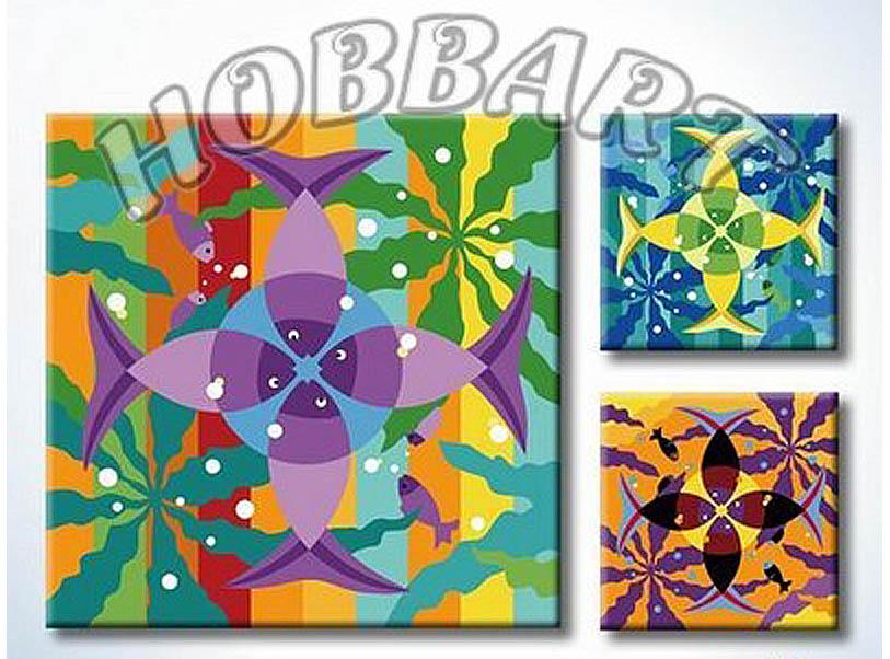 «Мандала для раскрашивания №20»Hobbart<br><br><br>Артикул: MT4040020<br>Основа: Холст<br>Сложность: легкие<br>Размер: 40x40<br>Количество цветов: 23<br>Техника рисования: Без смешивания красок