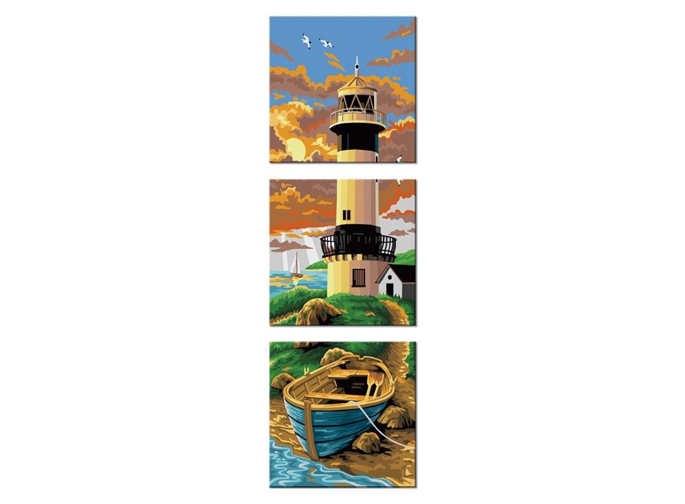 Картина по номерам «Фаро»Hobbart<br><br><br>Артикул: PH340120076<br>Основа: Холст<br>Сложность: сложные<br>Размер: 3 шт. 40x40 см<br>Количество цветов: 25<br>Техника рисования: Без смешивания красок