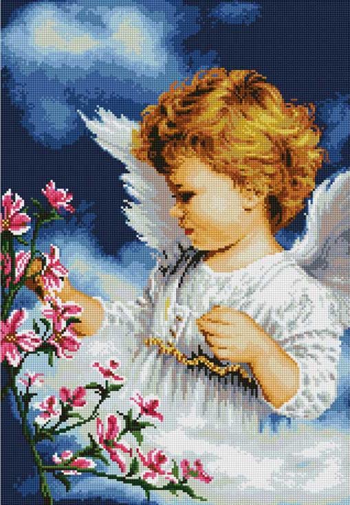 Набор алмазной вышивки ангел