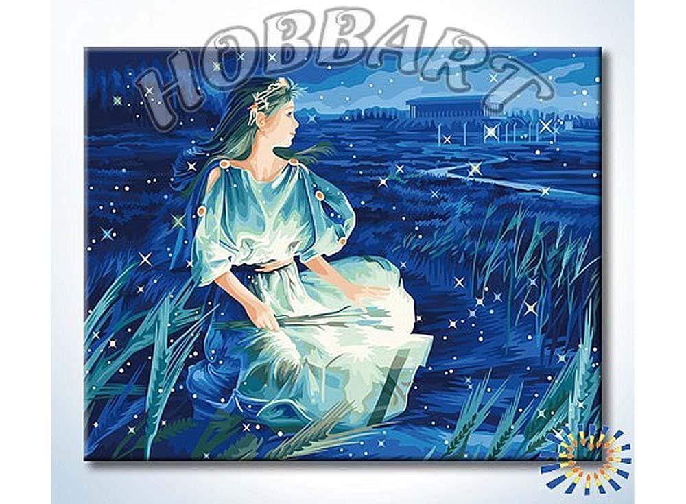 Картина по номерам «Магия знаков. Дева» Ютака КагаяHobbart<br><br><br>Артикул: YH4050006<br>Основа: Холст<br>Сложность: сложные<br>Размер: 40x50 см<br>Количество цветов: 25<br>Техника рисования: Без смешивания красок