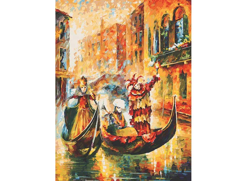 «Венецианская гондола» Леонида АфремоваКартины по номерам Белоснежка<br><br><br>Артикул: 2010-am<br>Основа: Холст<br>Сложность: очень сложные<br>Размер: 60x80<br>Количество цветов: 45<br>Техника рисования: Без смешивания красок