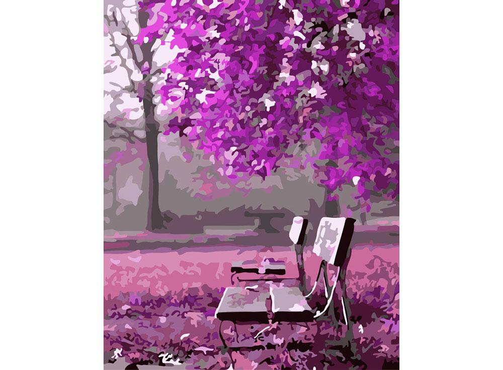 «Сиреневый вечер»Картины по номерам Белоснежка<br><br><br>Артикул: 531-CG<br>Основа: Холст<br>Сложность: средние<br>Размер: 40x50<br>Количество цветов: 21<br>Техника рисования: Без смешивания красок