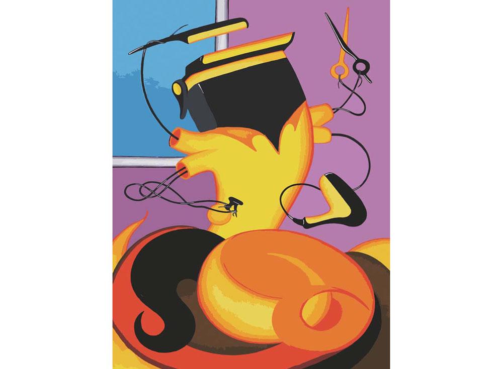 «Парикмахер» Романа ИсаеваКартины по номерам Белоснежка<br><br><br>Артикул: 732-as<br>Основа: Холст<br>Сложность: легкие<br>Размер: 30x40<br>Количество цветов: 20<br>Техника рисования: Без смешивания красок