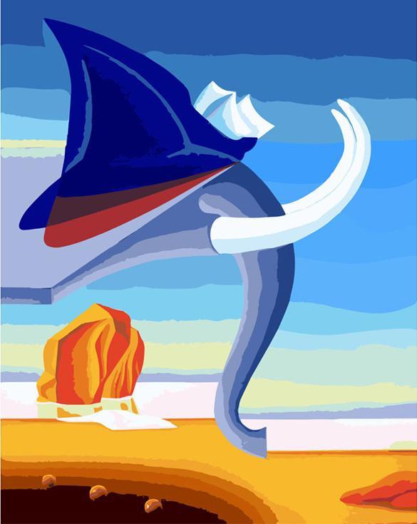 «Боевой слон»Картины по номерам Белоснежка<br><br><br>Артикул: 829-AB<br>Основа: Холст<br>Сложность: средние<br>Размер: 30x40 см<br>Количество цветов: 35<br>Техника рисования: Без смешивания красок